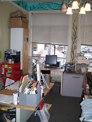 The chaos of the Staff Office, IPRC