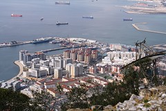 022. Gibraltar from top of the Rock. March 2012