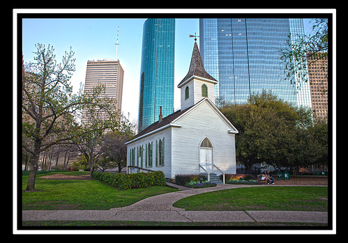 Church in Sam Houston Park