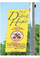 College students design banners for District Heights Maryland
