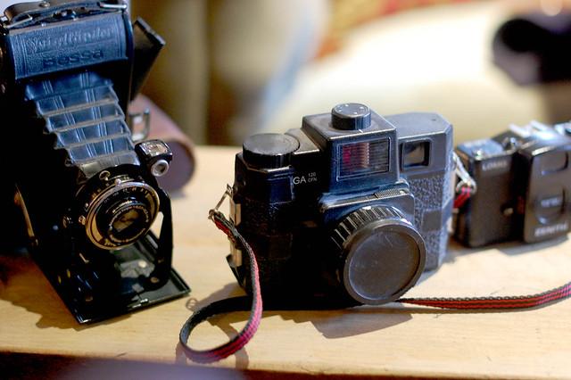 Tom Rosin's Cameras
