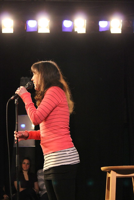 Lisa Laureta at 100 Proof Comedy JFL Audition Showcase