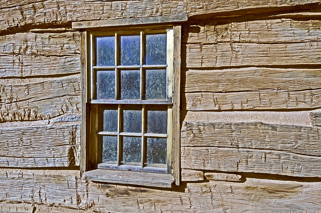 Log Cabin Window Flickr Photo Sharing