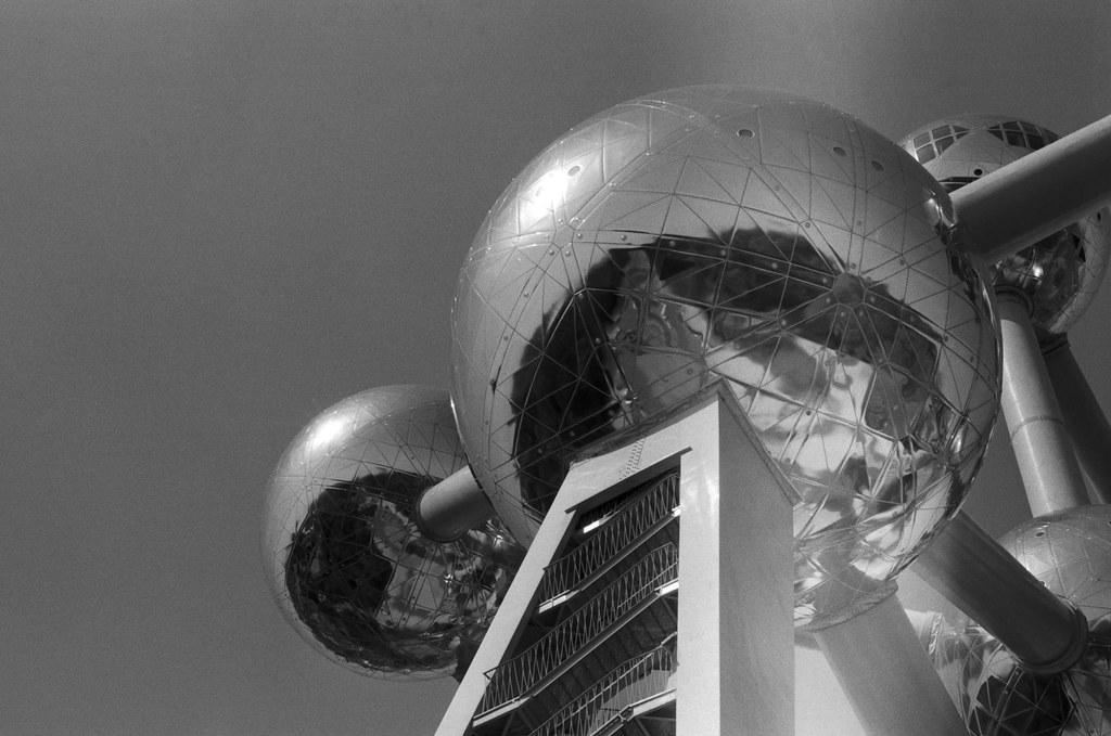 Atomium still radiates