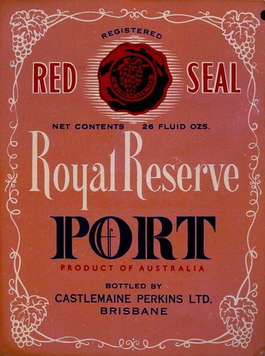 Royal Reserve Port label