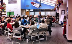 Photo of teachers engaged in a professional development session