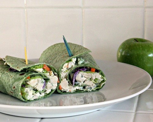 Indigo's Sugar Spectrum: Chicken Salad Wraps