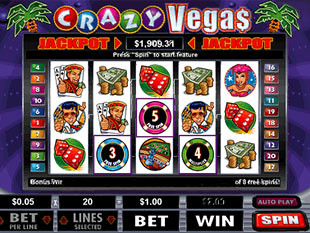 Crazy Vegas Slot Free Spins Feature