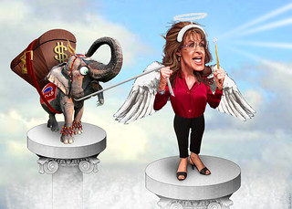 Sarah Palin in the Wings