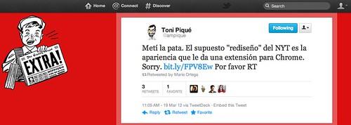 Twitter @ampique