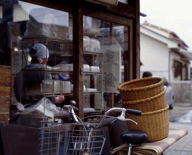 街道筋の団子屋