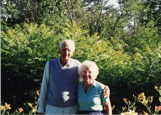 Grandma and Grandpa Johnson