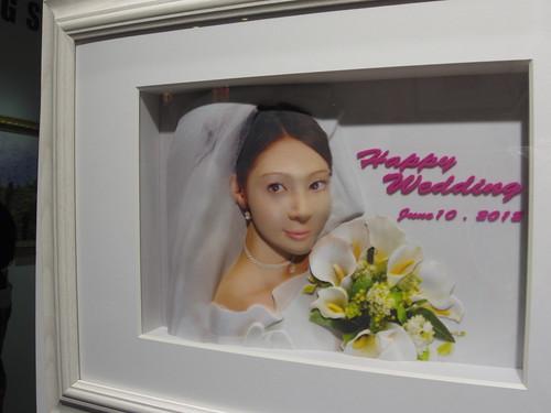 CASIO カシオ デジタル絵画 肖像