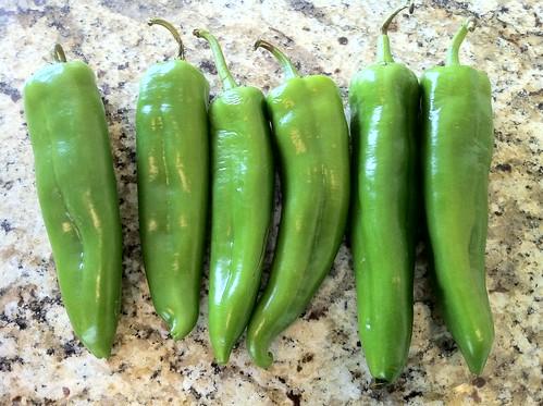 Anaheim Green Chilis