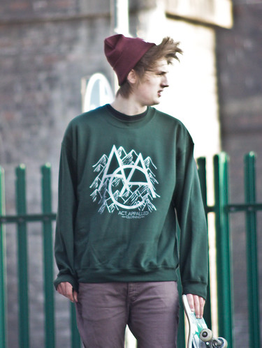 Alistair Freeman - Act Appalled Green Crew / Sweatshirt