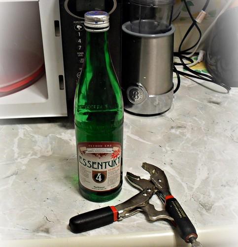 Russian mineral water opening by feliks kogan