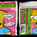 Amurol - Bart Bubble Gum - candy gum pouch - 1990 by JasonLiebig