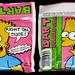 Amurol - Bart Bubble Gum - candy gum pouch - 1990 by JasonLiebig