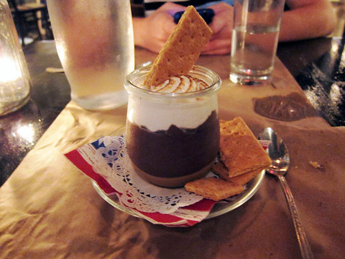 s'mores in a jar