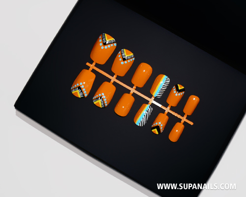 "Supa Nails ""Zulu Pop"" NEW in Shop"