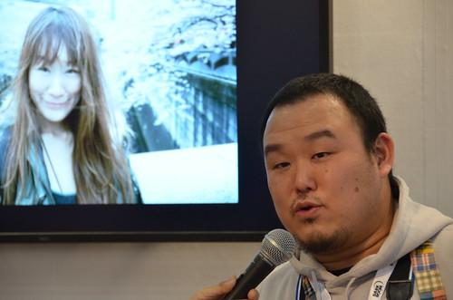 KEN3TV in CP+ 2012