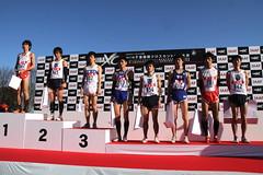 一般男子4km、表彰式