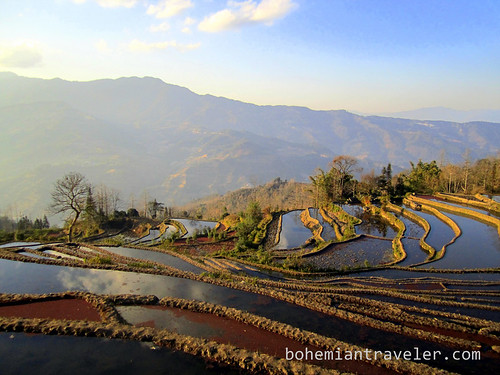 Yuanyang Rice Terraces around Xinjie China 20