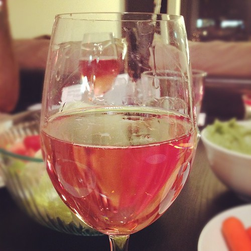 Pink moscato -- hehe!