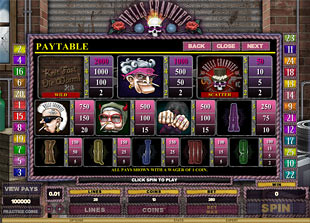 free Hells Grannies slot mini symbol