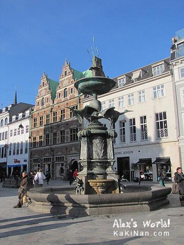 Amagertorv, Copenhagen, Denmark