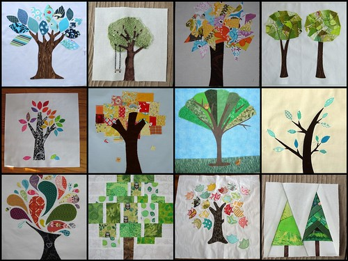 Tree block inspiration mosaic