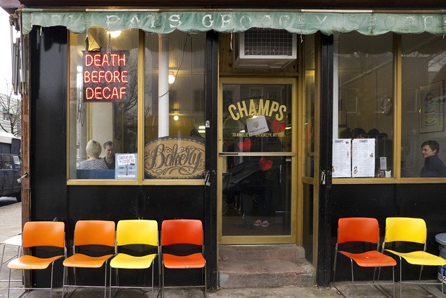 Death Before Decaf, Brooklyn
