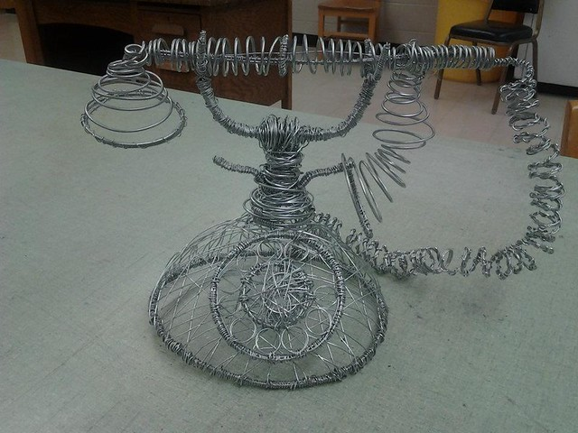 3d design wire sculpture flickr photo sharing for 3d wire art