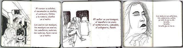 la bella y el metro / 3