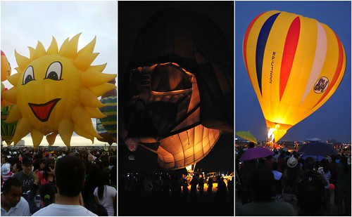 Philippine International Hot Air Balloon Fiesta 2010, 2011, 2012