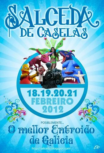 Salceda de Caselas 2012 - cartel
