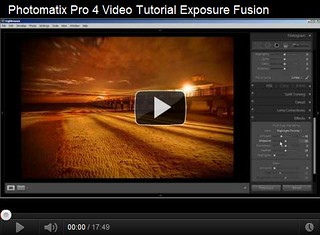 Photomatix Pro 4 Video Tutorial Exposure Fusion