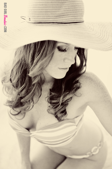 Black and White Boudoir Photo // Florida Boudoir Female Photographer