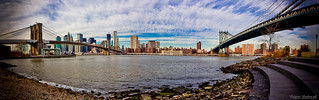 Panorama of Manhattan (New York City, NYC, United states)