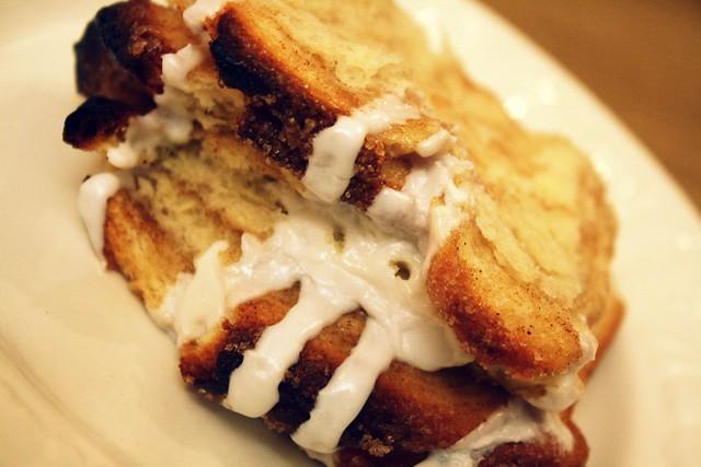 Cinnmon tear apart bread