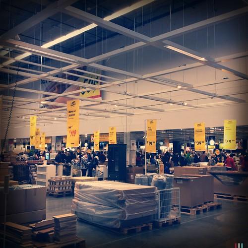 Busy Ikea