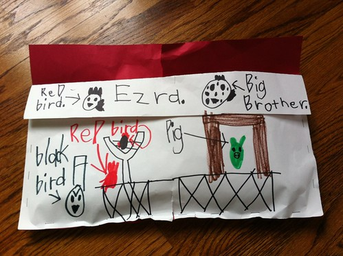 Ezra's Friendship Day folder