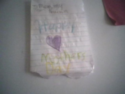 Mothers Day Card from Breann 2009