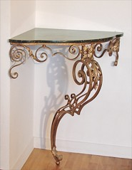 6906209041 515c631e4d m Wood Console Tables   Perfect For Adding Character to Any Room