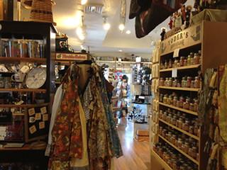 Inside Yoder's Gift Shop