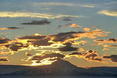 Mount Discovery, Antarctica Sunset