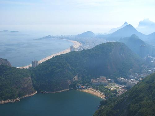 Copacabana a lo lejos