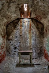 Lone Table - Eastern State Penitentiary - Philadelphia, Pa
