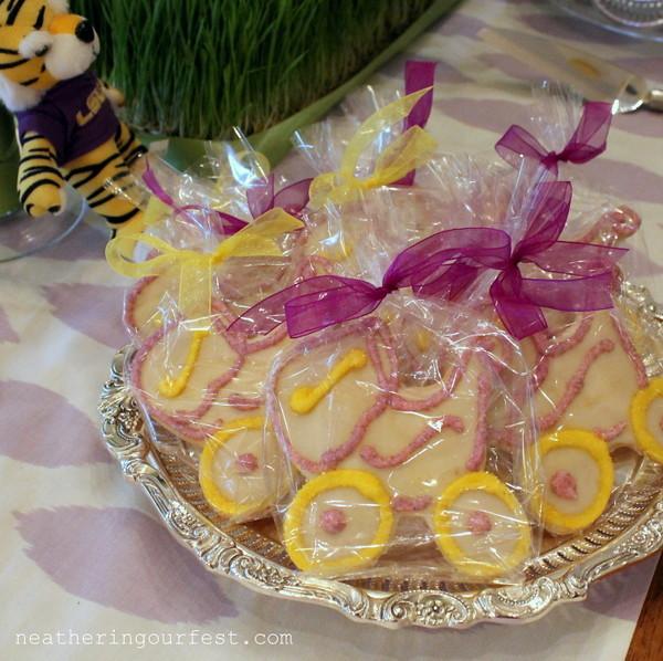 carriage sugar cookies