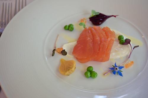 Cured and smoked salmon, De Bortoli
